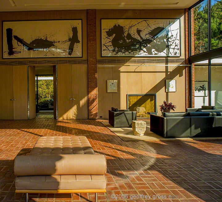 Philip Johnson Architect Boissonnas House 1955  New Canaan CT